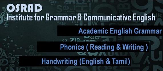 OSRAD English Grammar